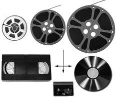 Film til DVD copy svart hvit uten tekst