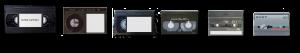 Alle typer kassett